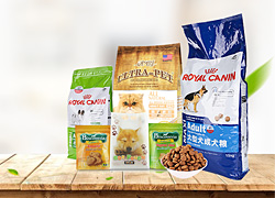 China Pet Food Packaging Printing on sales